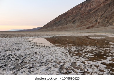 Badwater Basin at Death Valley National Park