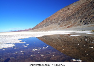 Badwater Basin in Death Valley National Park, USA