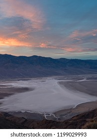 Badwater basin seen from Dante's view, Death Valley National Park, California, USA