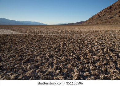 Badwater in Death Valley National Park, USA.