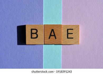 https www shutterstock com image photo bae acronym before anyone else best 1918391243