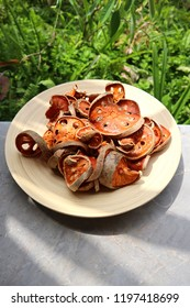 Bael fruit, Texture Sliced Bael Fruit Dried