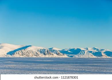 Baffin Island Mountain landscape