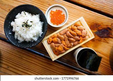 바푼 유니 앤 이쿠라 인 재패니즈 레스토랑