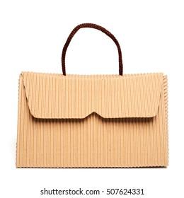 Bag (box) made of corrugated cardboard