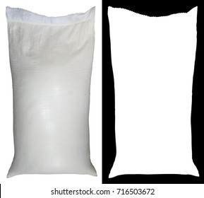 Bag of flour from polypropylene, fifty pounds, with alpha channel