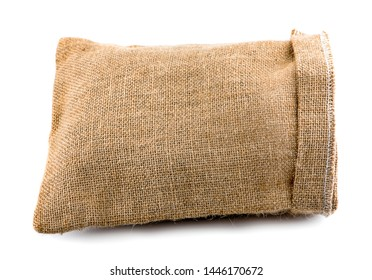 bag Sackcloth isolated on white background.clipping path