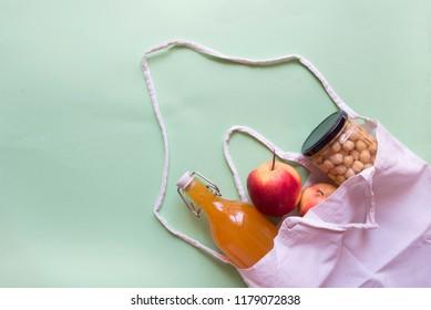 Bag textil for food