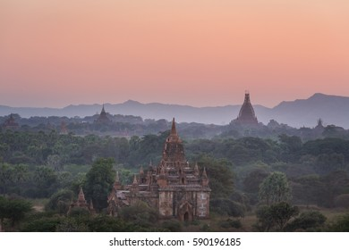 Bagan is an ancient city with thousands of historic buddhist temples and stupas.