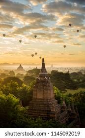 Bagan Sunrise in Myanmar