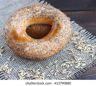 bagel on the table