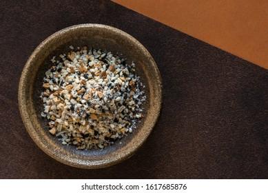 Bagel Seasoning in a Bowl