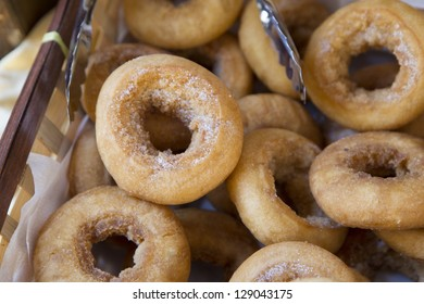 bagels with sugar group