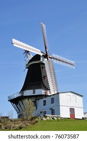 The Bagenbjerg Mill by Tulleboelle on Langeland by Funen Denmark, is dated from 1860 and is fully restored.