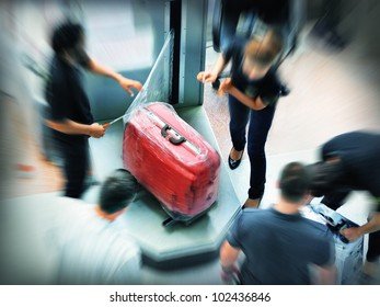 Baggage wrapping