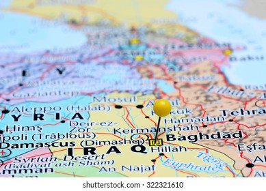 Map Of Baghdad Images, Stock Photos & Vectors | Shutterstock