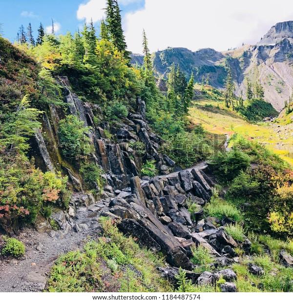 Bagley trail Mount Baker