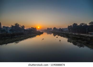 Bagmati River, Kathmandu River, Kathmandu City, Kathmandu, Nepal