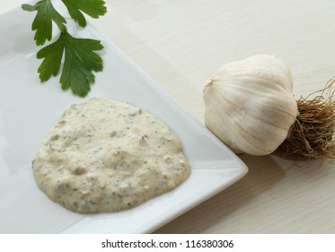 Bagnet verd (parsley sauce)