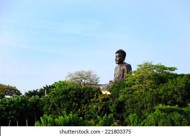 Bagua Mountain Giant Buddha in Changhua, Taiwan