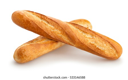 baguette isolated