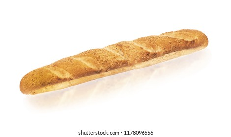 the baguette, long french bread