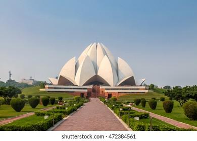 Bahai Lotus Temple - New Delhi, India