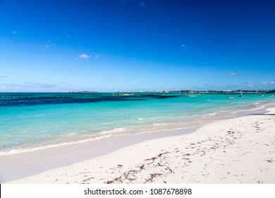 Bahamas, the golden sands of Cable Beach