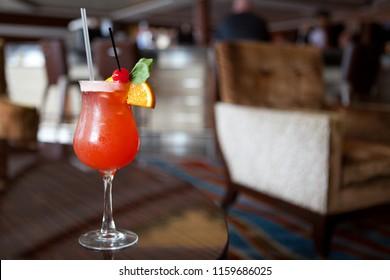 Bahamas Mama in A Bar