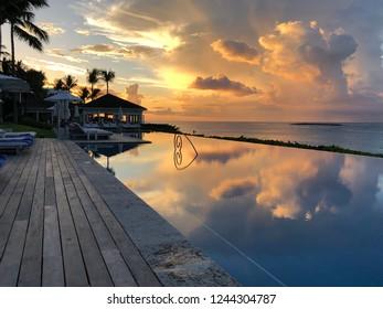 Bahamas at sunset