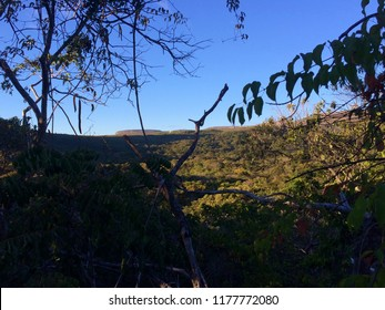 Caeté-Açu , Bahia Brazil: 24 of June 2016: View of Capon Valley, nation park Chapada Diamantina.
