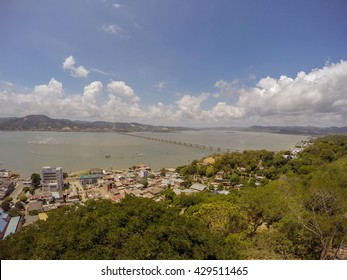 Bahia De Caraquez Was Founded On The Sea, Settled Permanently In The Current Bay, Ecuador, South America