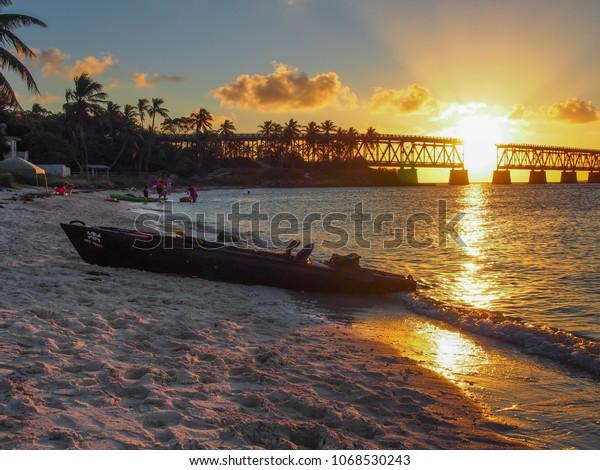 Bahia Honda Key Florida Usa January Stock Photo (Edit Now