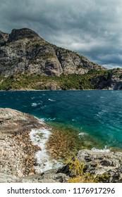 Bahia Lopez bay in Nahuel Huapi lake near Bariloche, Argentina