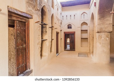 BAHLA, OMAN - FEBRUARY 27, 2017: Interior of Bahla Fort, Oman