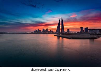Bahrain cityscape view