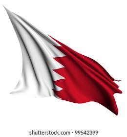 Bahrain flag - collection no_4