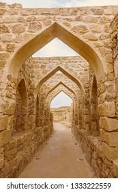 Bahrain Fort - Qal'at al-Bahrain in Manama. Manama, Bahrain.