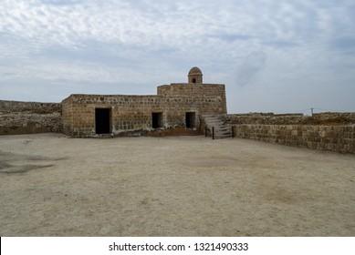 Bahrain Fort (Qal'at al-Bahrain, Portuguese Fort). Archaeological site located in Bahrain. Arabian Peninsula