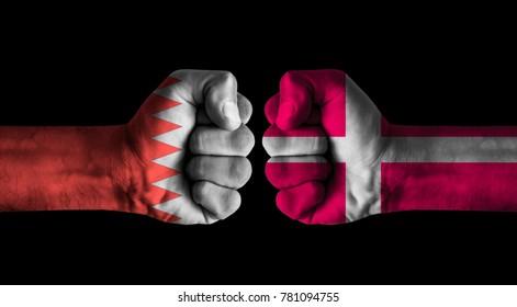 Bahrain vs Denmark