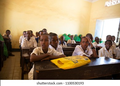 Baidoa / Somalia - March 2017 - Education continues during drought in Somalia