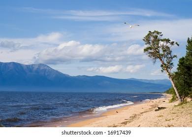 Baikal, Barguzin bay