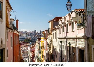 Bairro Alto, Altstadt in Lissabon, oldtown in Lisbon, Portugal