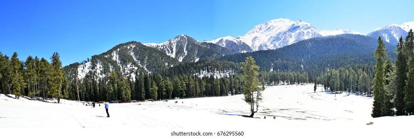 Baisaran Valley, Pahalgam, Kashmir, India