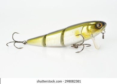 the  bait of three parts with two hooks