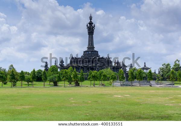 Bajra Sandhi Monument or Monumen Perjuangan Rakyat Bali, Denpasar, Bali, Indonesia.