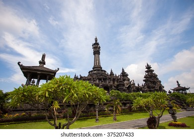 Bajra Sandhi Monument (Monument Perjuangan) in Denpasar Bali is monument of Balinese People Struggle