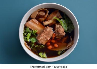 Bak kut teh, Chinese herbal cuisine