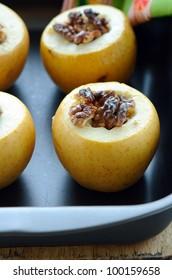 baked apples - Shutterstock ID 100159658