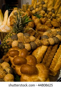 baked bread assortment